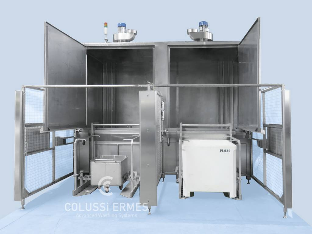 Lavage wagonnets Colussi Ermes