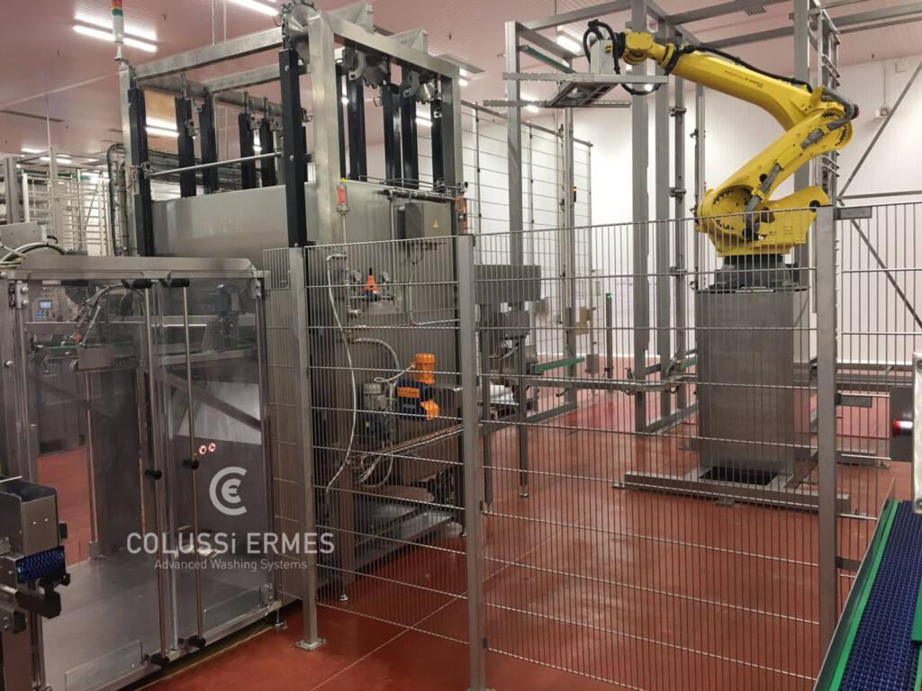Lavage-soufflage saucissons - 20 - Colussi Ermes