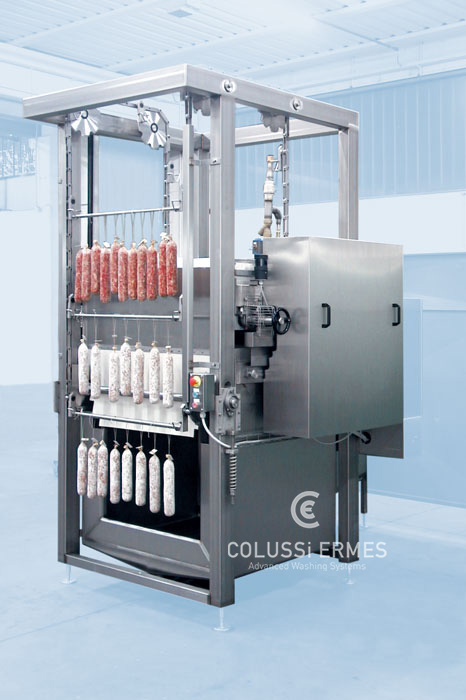 Traitement avec la farine des saucissons - 1 - Colussi Ermes