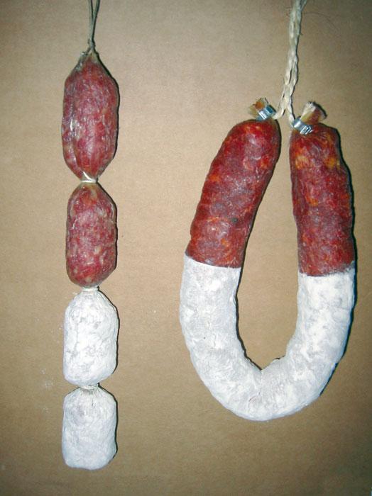 Traitement avec la farine des saucissons - 6 - Colussi Ermes
