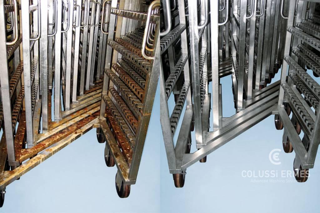 Lavage chariots et treillis - 14 - Colussi Ermes