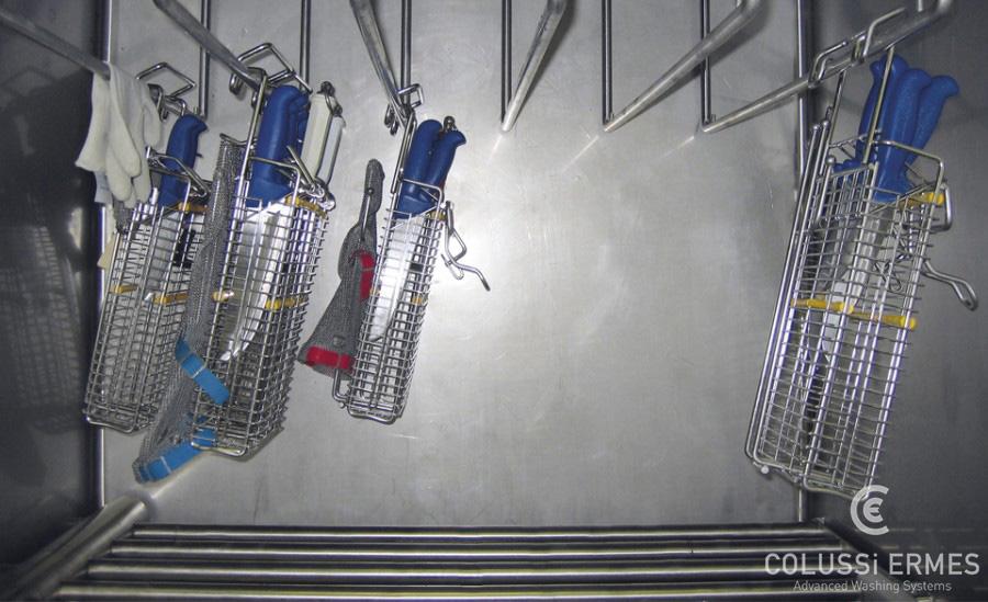 Lavage couteaux et lames Colussi Ermes