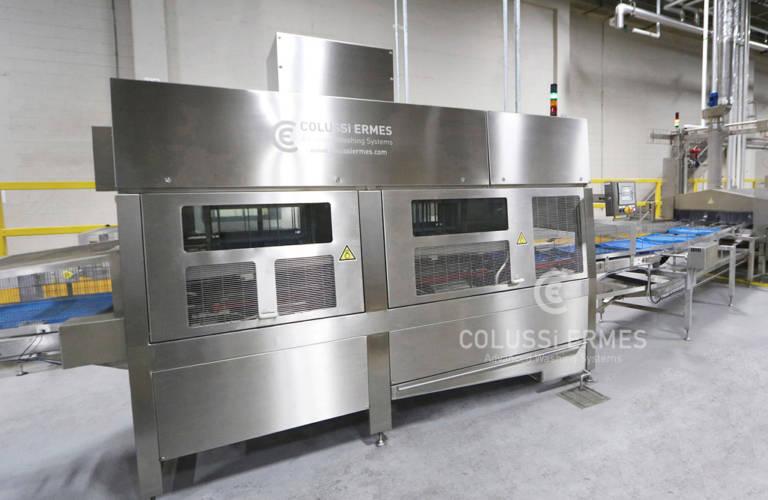 Installations de séchage de caisses à centrifugeuses