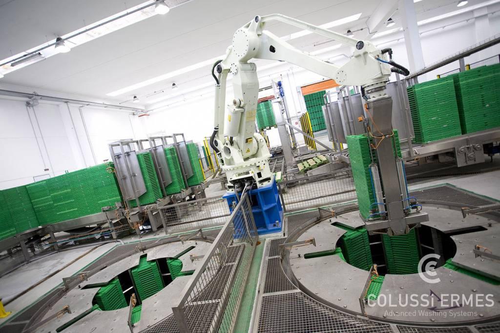 Installations de séchage de caisses à centrifugeuses - 1 - Colussi Ermes