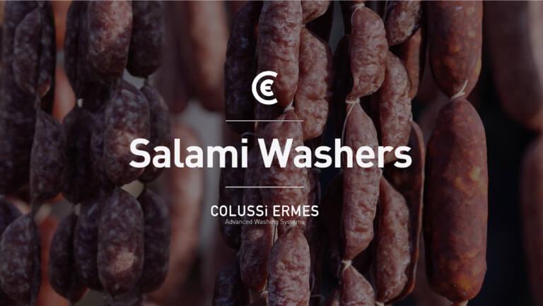 Des installations de lavage-soufflage de saucissons conçues sur mesure pour conserver le produit et ses qualités